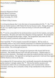 teacher letter of recommendation 5 sample reference letter for student from teacher appeal letter