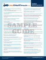 Dmv Dmvcheatsheets Sheet Indiana -- Cheat com