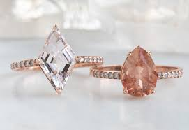 Design Your Own Morganite Engagement Ring Design Your Custom Morganite Sunstone Engagement Ring
