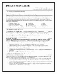 Human Resources Resumes Human Resources Resume Examples Sample Resume Format For Hr