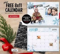 8x11 Calendar Shutterfly Free 8x11 Calendar 40 Off Everything