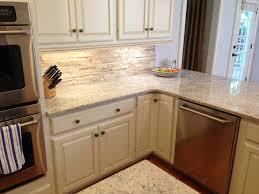 kitchen backsplash white cabinets. Mosaic Tile Kitchen Backsplash With White Cabinets Travertine S