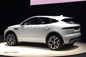 jaguar cx 17 interior jaguar e pace 2018 release date specs and interior