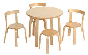Kids Table and Chair Set - Svan Play with Me Toddler 3 Chairs Amazon.com: