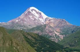 Гора Казбек одна из главных вершин Кавказских гор Казбек Северная Осетия