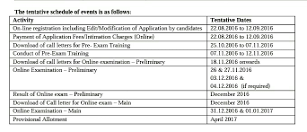 Tentative Schedule For Ibps Clerk Exam Best PERFECT CAREER EDUCATION Enchanting Exambest