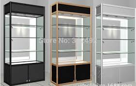 Glass Display Showcase Glass Cabinetswoodglass Led Case Factory  Directly Sale Better Price For Bulk Orderpop Clear Boxin Reception Desks From  Cabinet 256