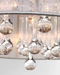 drum shade chandelier light lamp shade drum crystal chandelier