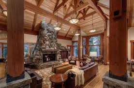 Rustic Design For Living Rooms Rustic Design Ideas Canadian Log Homes