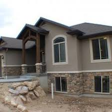 exterior paint color combinations with stone. cf olsen homes, exterior, stucco, rock. house color schemeshouse exterior paint combinations with stone r