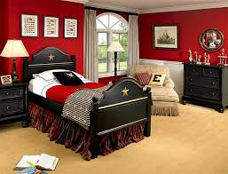 kids black bedroom furniture. Beautiful Kids View In Gallery Traditional Kidsu0027 Bedroom With A Splash Of Red On Kids Black Bedroom Furniture
