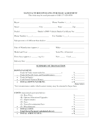 Sale Agreement Forms Bill Of Sale Agreement Template
