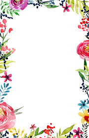 Invitation Boarders Floral Borders Invitations Png 5636 Transparentpng