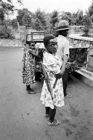 female child iers can be victims of abuse perpetrators of a national resistance army girl ier poses their kalashnikov 26 1986 in kampala