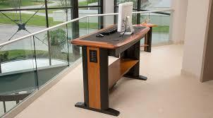 standing computer desk full