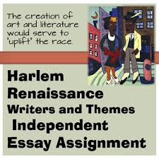 harlem renaissance writers and themes independent essay project tpt harlem renaissance writers and themes independent essay project