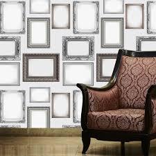 wall frames pattern picture photo frame ornate wallpaper wmfram