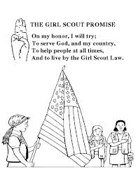 Small Picture 112 best Girl Scout Coloring Pages Printables images on
