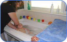 bath your newborn baby with the worlds safest baby bath