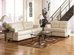 Durablend Ivory Sofa & Loveseat sofa loveseat livingroom rana