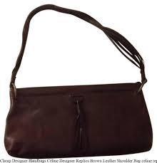 designer handbags céline designer replica brown leather shoulder bag celine replica