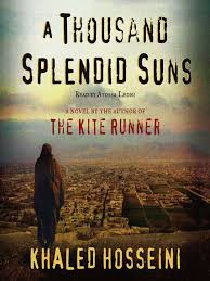 one of many happy endings a thousand splendid suns reviewed  book cover a thousand splendid suns by khaled hosseini
