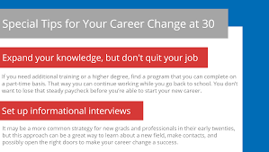 i need a career change career change at 30 40 50 advice for career changers ihire