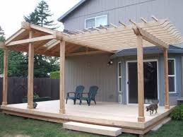 deck roof plans home design ideas