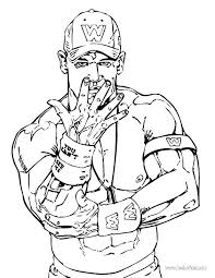 Wwe Coloring Pages Printable Free Print Ww Lagrangeowin
