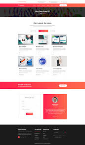 Html Print Preview Design Printeso Printing Agency Business Html Template Ad