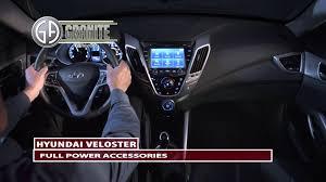 Hyundai Veloster Accessories Hyundai Veloster Full Power Accessories Youtube
