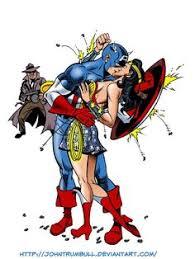 Captain America & Wonder <b>Woman</b> Baron <b>Zemo</b>, Jack Kirby, Marvel ...