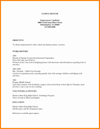 Classy Blank Resume Template 6 7 Free Cv Templates Download