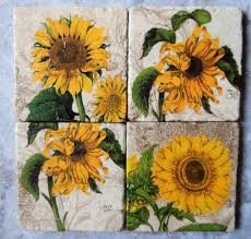 866 best the sunflower cottage images on sunflower wall decor