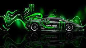 monster energy lamborghini huracan plastic car