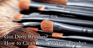 here s what you ll need to clean your brushes