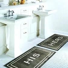 home bath rugs his cotton rug brown memory foam mat target target bathroom mats