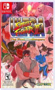 ultra street fighter ii the final challengers nintendo switch