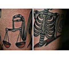 скелет значение татуировок в россии Rustattooru