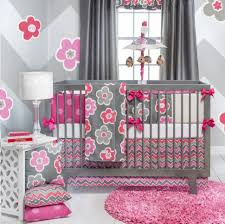 beautiful baby crib bedding sets girls lostcoastshuttle cot quilt purple nursery pink and grey set girl