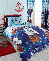 kids bedding pirate single duvet set