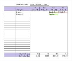 Work Schedule Template Excel Graceful Printable Weekly Employee 6 4
