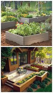 ... Terrific Brown Green Rectangle Rustic Grass Wood Diy Garden Decorative  Pollybag Flowers Design: ...