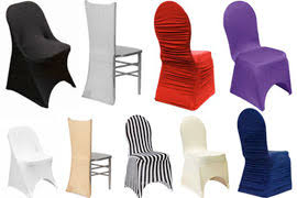 chair covers. spandex covers chair