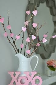 diy home decoration ideas for valentine s day heart tree decor