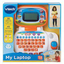 Đồ Chơi Trẻ Em Vtech - 80-155403 My Laptop - Laptop Học Chữ Cái (Cam)