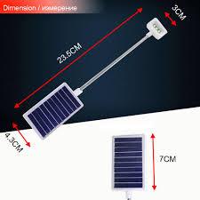 Us 778 17 Offchincolor Flexibele Desktop Leeslamp Bureaulamp Zonne Energie Tafellamp Draagbare Clip Op Boek Licht Usbsolar Night Licht Ca In