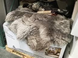 surging costco fur rug urgent faux sheepskin surprising sheep pleasing picture