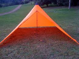 i love the orange colour nice and bright however i guess i can forget about using this tent for stealth camping
