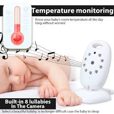 baby room monitors. DBPOWER VB601 Video Baby Monitors Wireless With 2 Inches LCD Screen Way Talk IR Night Vision Temperature Security Camera-in From Room